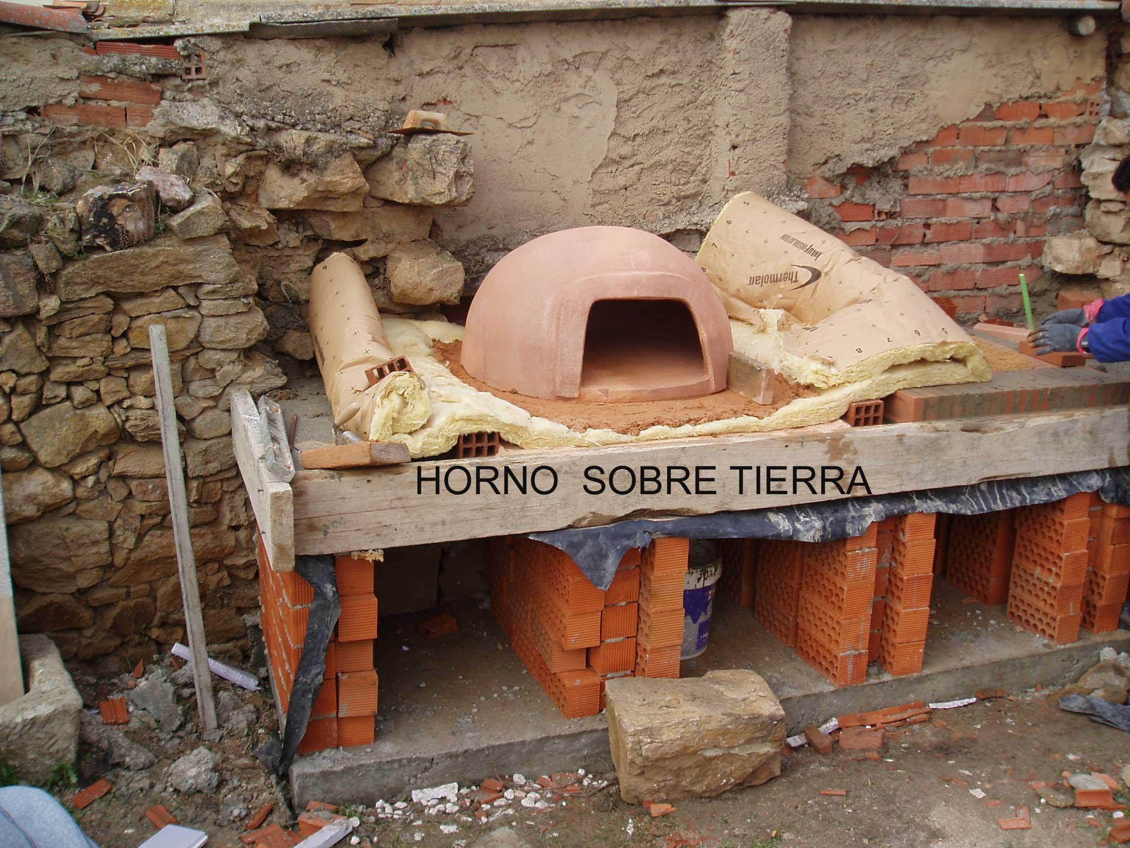 Como hacer un horno la fabrica de pereruela - Materiales para hacer un horno de lena ...