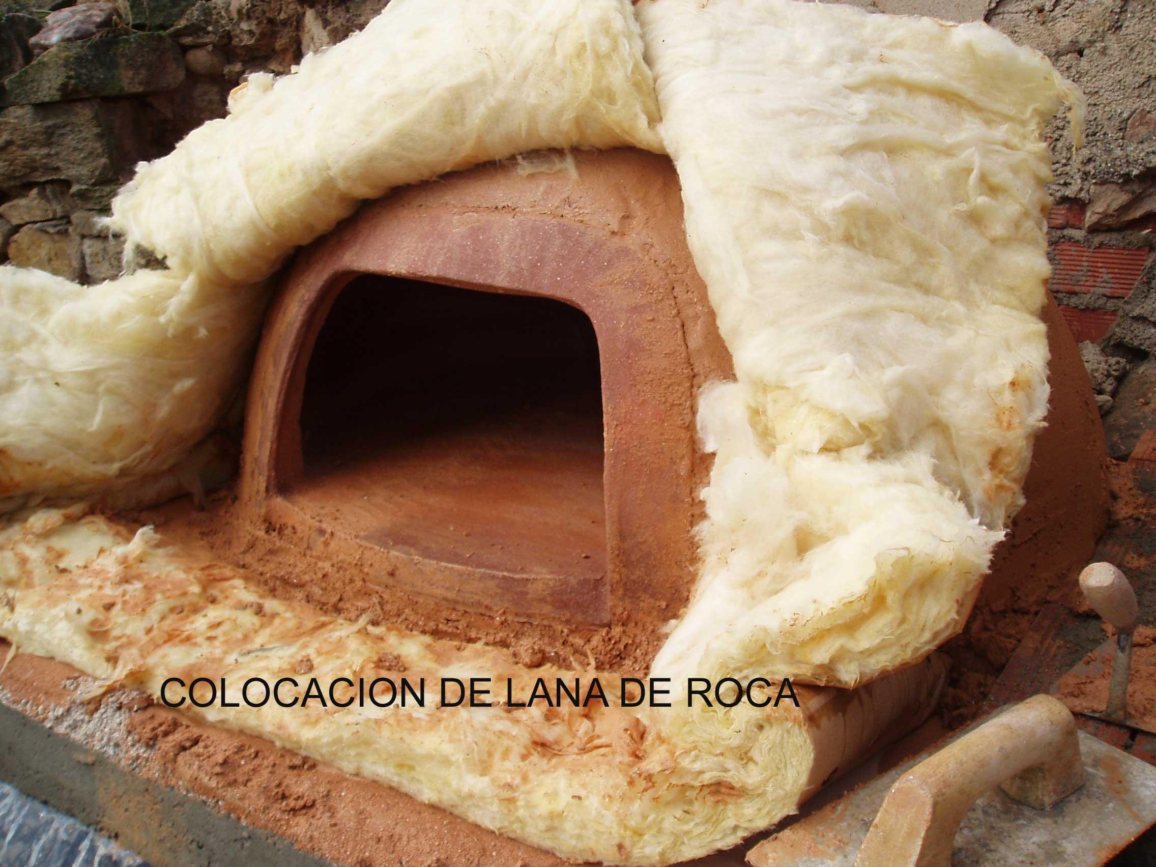 Como hacer un horno la fabrica de pereruela - Lana de roca precio ...