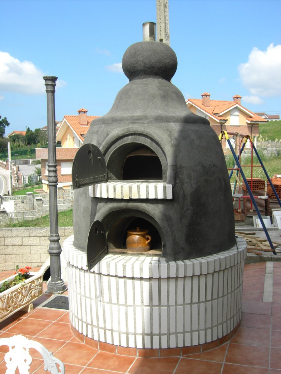 Horno con hornilla en cantabria la fabrica de pereruela - Como cocinar en un horno de lena ...