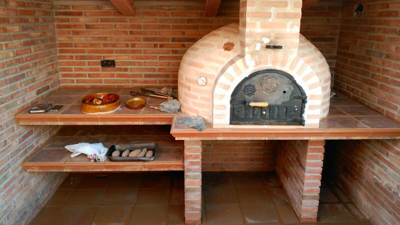 Horno montado en ladrillo joaquin vilarino la fabrica - Como hacer horno de lena ...